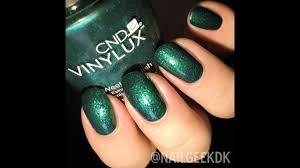 Shellac Emerald Lights Cnd Vinylux 234 Emerald Lights Starstruck Collection