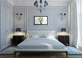 bedroom with area rugs on side of bed