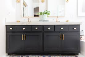 Modern bathroom remodel Small Bathroom Modern Bathroom Remodel Before And After The Posh Home The Posh Home Modern Master Bathroom Remodel Before And After The Posh Home