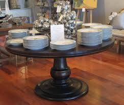 cabinet exquisite round dining table 60 inch 7 pedestal base gray inch round dining table
