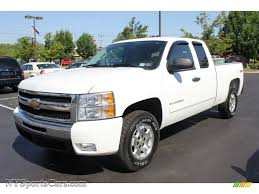 Silverado chevy 2010 silverado : 2010 Chevrolet Silverado 1500 LT Extended Cab 4x4 in Summit White ...