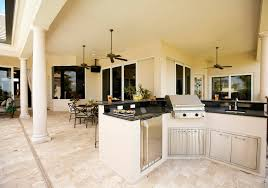 L Custom Outdoor Kitchens