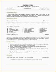 Sample Two Page Resume Resume For Study