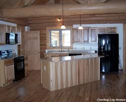 attractive brown color hickory kitchen cabinets come with rectangle shape brown color wooden kitchen cabinets and cream color granite countertop plus black