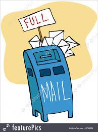 Illustration Of Full Mailbox