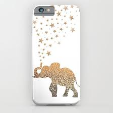 An elephant and glitter!! :: iPhone & iPod Case | YES | iPod cases ...