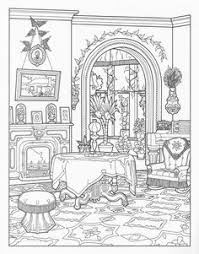 Small Picture Victorian house coloring page Adult and Childrens Coloring