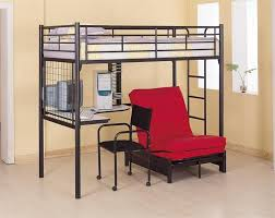 black metal bunk bed with desk underneath metal bunk bed with desk underneath e71 metal