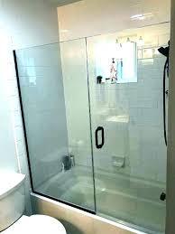 how to install bathroom door tub doors glass shower enclosures and bathtub door install amazing sliding
