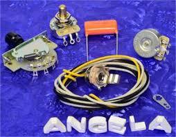 telecaster wiring kit 3 way crl switch and orange drop