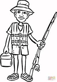 Small Picture Going on Fishing coloring page Free Printable Coloring Pages