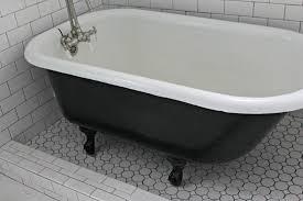 antique bathtub restoration. image of antique clawfoot tub restoration creative cast iron bathtub