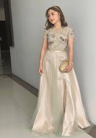 Bahan brokat + scuba lingkar dada : 10 Model Dress Brokat Terbaru Anggun Buat Gaya Pesta