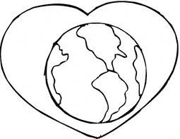Small Picture Earth Coloring Pages Printable Clipart Panda Free Clipart Images