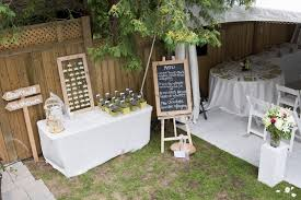 Diy Outdoor Wedding Decorations Garden Reception Ideas  Amys OfficeDiy Backyard Wedding Decorations