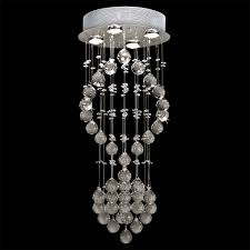 modern crystal glass round chandelier 4 light 12 x 30 loading zoom