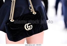 gucci bags india. gucci bag at paris fashion week 2016, rtw s/s 2017 - stock image bags india