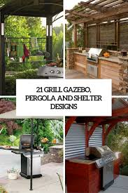 grill gazebo shelter and pergola designs cover