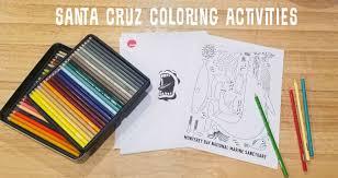 Download the file, print onto cardstock and laminate for durability. Free Santa Cruz Printable Coloring Activities Santa Cruz Life