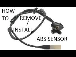 how to replace abs wheel speed sensor front how to replace abs wheel speed sensor front