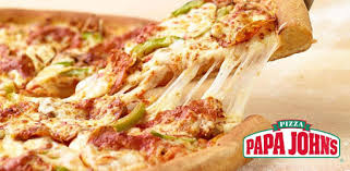 Image result for papa johns pizza