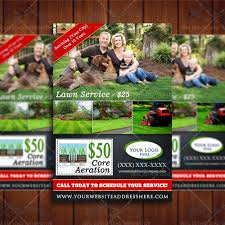 lawn care advertising templates lawn care business marketing flyer template service flyer design by