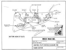 music man sabre i setup smp artizan guitar and amplifier tech sabre guitar control layout original manual