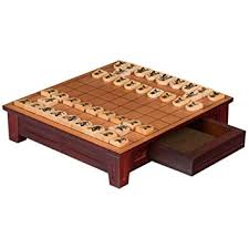 Wooden Board Games Canada Shogi Japanese Chess Game Set With Wooden Board With Drawers And 27