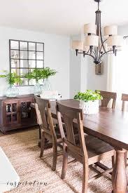 simple summer dining room decor