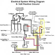 ford 600 tractor wiring diagram ford tractor series 600 electric 6 volt coil wiring diagram at Ford Flathead 6 Volt Coil Wiring