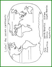 It develops fine motor skills, thinking, and fantasy. Great Image Of Continents Coloring Page Entitlementtrap Com World Map Coloring Page Continents And Oceans Continents
