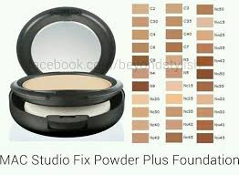 Colour Guide In 2019 Mac Studio Fix Powder Studio Fix