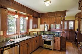 Kitchen Island Table 715x600 Also American Craftsman Interior Design