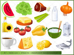 Chart Of Different Food Items Healthy Food Items Clipart Clip Art Library