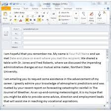 Tips For Sending A Networking Email Free Templates Included