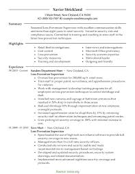 Operations Resume Examples Glamorous Supervisor Resume Examples Sample Exam Samples For