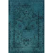 teal grey area rug