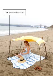 how to make a boho beach tent