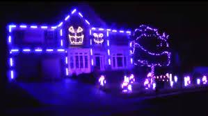 child friendly halloween lighting inmyinterior outdoor. Halloween Lighting. Ultimate Light Show? House \\u0027lip-syncs\\u0027 To Child Friendly Lighting Inmyinterior Outdoor