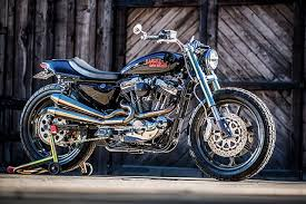 midnight express mule motorcycles mean harley sportster street