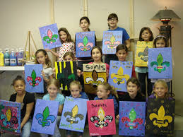 schedule a private paint party any available day of the week