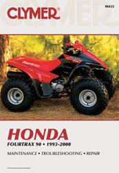 honda atv manuals diy repair manuals clymer honda fourtrax 90 atv 1993 2000 service repair manual