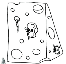 Lovely Cheese Head Coloring Page Tintuc247me