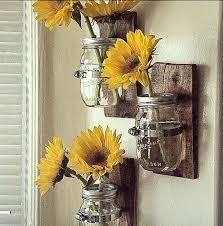 rustic sunflower wall art