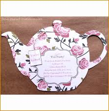 printable tea party invitation bridal tea by doityourselfinvites sbykca