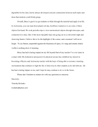 Best Solutions Of Recommendation Letter For Student Applying To