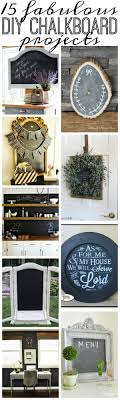decorative chalkboards for various functions. 15 Fabulous DIY Chalkboard Projects Decorative Chalkboards For Various Functions E