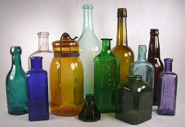 Decorative Colored Glass Bottles Bottle Colors Page 21