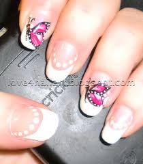 Butterfly Design for Nails – Holographic butterfly Easy Nail Art ...