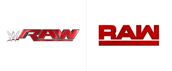 Small Picture Brand New New Logos for WWE Raw and Smackdown Live
